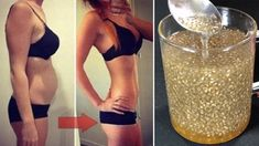 In last few years chis seeds have gained much popularity. These seeds are high Best Weight Loss Plan, Healthy Weight Loss, Weight Loss Tips, Losing Weight, Chia Seed Recipes For Weight Loss, Weight Loss Drinks, Weight Loss Smoothies, Bebidas Detox, Unhealthy Diet
