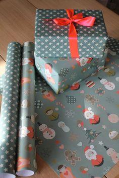 christmas wrapping.