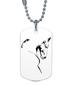 HORSE NECKLACE TAG