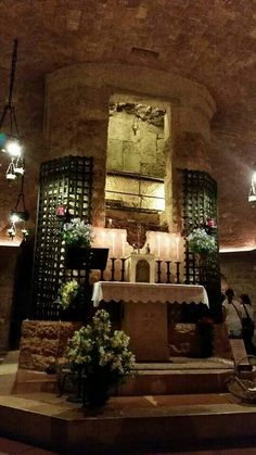 Tomb of St. Francis Assissi, Italy
