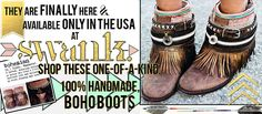 Get these Must Have Chic Boho Boots available only in the USA at SWANK! ShopSwank.com