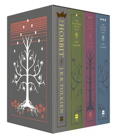 Delve into Tolkien's Middle-earth with this special collector's hardback boxed set