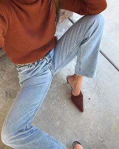 20+ Ways to Style Your Jeans This Fall Outfits Damen, Aktuelle Trends, Simple Outfits, Casual Outfits, Daily Fashion, Everyday Fashion, Fashion Mode, Fashion Outfits, Street Fashion