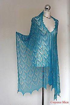 Lace Knitting Patterns, Knitting Blogs, Knitting Designs, Knitting Yarn, Knitted Shawls, Crochet Shawl, Knit Crochet, Lace Scarf, Knitting Accessories