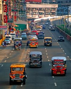 The Philippines: Home of the Famous Jeepneys...had a lot of fun riding in these!