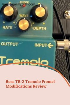 Click here to listen to the original Boss TR-2 Tremolo pedal, and the same pedal after it's been upgraded by Fromel Electronics! Old Crow Medicine Show, Guitar Reviews, Red Led Lights, Guitars, Boss, Electronics, Guitar, Consumer Electronics
