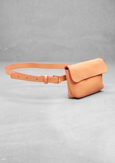 small bags trend woman needs & other stories Leather Bum Bags, Leather Briefcase, Leather Handbags, Leather Fanny Pack, Clare Vivier, Designer Shoulder Bags, Hip Bag, Clutch, Leather Accessories