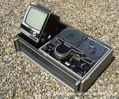 1965 Sony CV-2000/TCV-2010 Reel to Reel Video Recorder. World's 1st domestic video recorder.