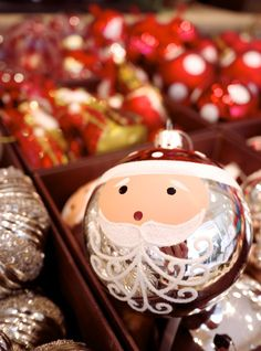 Homewares and Decor - Santa Bauble