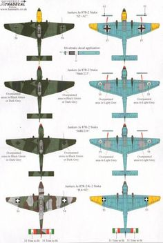 Xtradecal Item No. 72223 - Junkers Ju 87B/K/R Stuka Decal Review by Mark Davies: Image