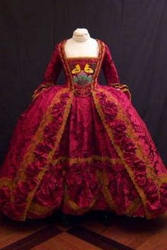 1750 Court Dress