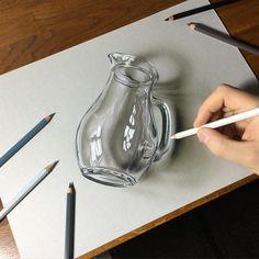 Realistic pencil drawings beautiful pencil drawings realistic drawings and sketches art 3d Art Drawing, Realistic Pencil Drawings, Pencil Art Drawings, Amazing Drawings, Amazing Art, Drawing Tips, Drawing Ideas, Abstract Drawings, 3d Pencil Sketches