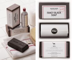 Fancy Black Soap - mineral-rich volcanic clay and milk from local, pasture-raised Nubian goats