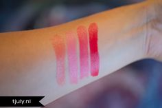 #7709 Captivating, #7710 Flirtatious, #7711 Sociable & #7712 Fearless  http://www.eyeslipsface.nl/product-beauty/lipstick