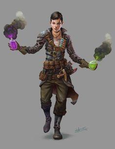 Alchemist by Alejandro García