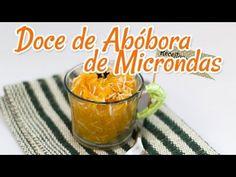 Como fazer doce de abóbora no microondas (Light!) - Receitas de Minuto EXPRESS #02