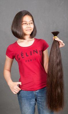 Long Hair Cut Short, Medium Long Hair, Short Hair Styles, Long Hair Ponytail, Ponytail Hairstyles, Indian Hair Cuts, Forced Haircut, Long Bob Haircuts, Cut Her Hair