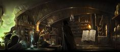 """""""Harry's First Potions Lesson"""" Pottermore Illustration"""