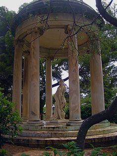 Temple of Love, Ephrussi de Rothchild Gardens's Villa, French Riviera