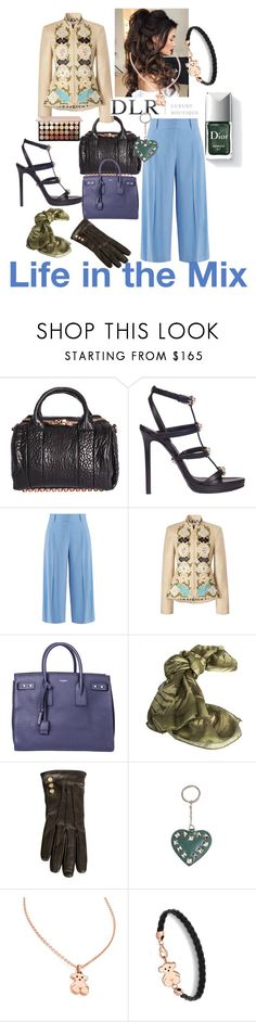 """""""NEW FALL WINTER DLRBOUTIQUE!!!"""" by sallytcrosswell ❤ liked on Polyvore featuring Alexander Wang, Versace, Diane Von Furstenberg, Tory Burch, Yves Saint Laurent, Borbonese, Valentino, TOUS and Couture Colour"""