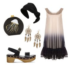 """""""20's cute"""" by dmep77 on Polyvore featuring Office, RED Valentino, Edie Parker and Boohoo"""