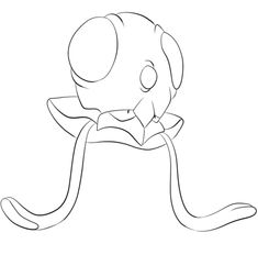 Tentacool Coloring page