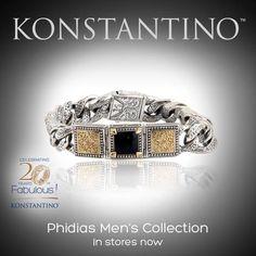 #konstantino #20yearanniversary #jewelry #greece #jewels #treasure #mensfashion #Phidias