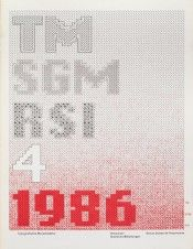 Cover from 1986 issue 4