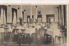 Speisesaal Hotel Wüsthofen, 20er Jahre