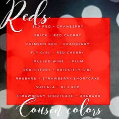 Reds Cousin Colors www.SeneGence.com/TimelessEleganceByTara #197061 #LipSense #alldaylipcolor