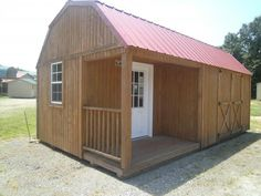 I'm probably going to go with this 12x20 shed for my house instead of building a tiny house on wheels. The front door needs to be moved so that space can be used as a bathroom, but other than that it's perfect and still mobile (though not QUITE as mobile as a tiny house on wheels obvs)