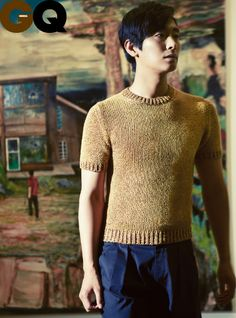 Joo Ji Hoon will be in the August issue of GQ Korea and Harper's Bazaar, and I imagine that in his interview, he's promoting his upcoming drama Five Fingers and his latest film I Am A K… Korean Men, Asian Men, Princess Hours, Korean Fashion Trends, Fashion Styles, Casual Outfits, Fashion Outfits, Gq Magazine