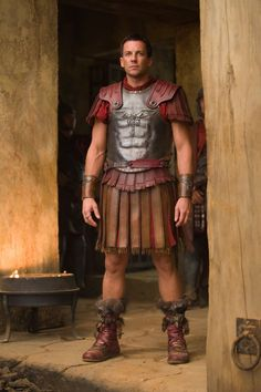 @Jessica Ardon, if you don't watch Spartacus - you should check out, Craig Parker!
