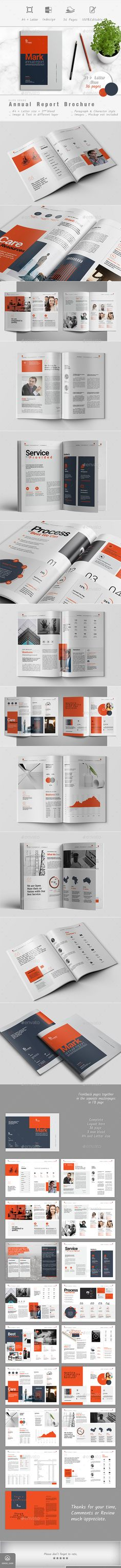 Annuual Report — InDesign INDD #ashuras_sharif #classic brochure • Download ➝ https://graphicriver.net/item/annual-report/19131681?ref=pxcr
