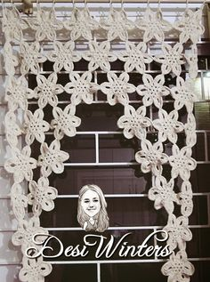 Filet Crochet, Crochet Motif, Crochet Designs, Crochet Doilies, Crochet Flowers, Crochet Lace, Crochet Patterns, Crochet Curtain Pattern, Crochet Curtains