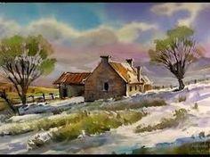 Resultado de imagem para winter farm drawing