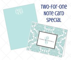 Until May 24th, get two-for-one flat and folded note cards! Double your order of 25 or more note cards for FREE on select Printswell brands when you shop online.