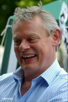 Martin Clunes, I could eat him with a fork!