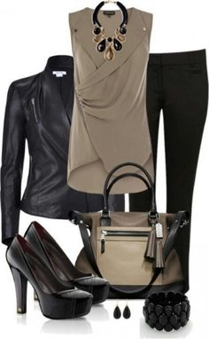 Great blouse style out of a dark burgundy red