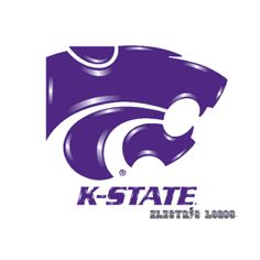 Kansas State Light up sign for your car home or office..purchase your very own at https://www.electriclogos.com/