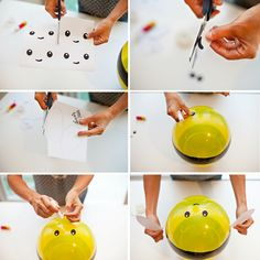 How To Make Bumblebee Balloons