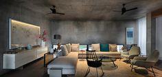 Cool Feng Shui - Villa Ahmedabad von Blocher Blocher Partners in Indien