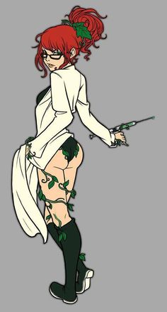 how to draw batman tas ivy