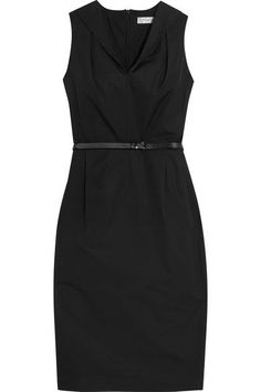 Max Mara Black Cotton Dress [+]