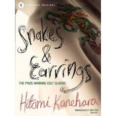 Snakes and Earings (Hebi ni piasu) Hitomi Kanehara Book Club Books, Book Lists, Good Books, Japanese Literature, Snake Earrings, Ebook Pdf, Snakes, This Book, Writing