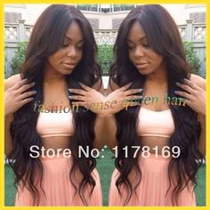 Find More Wigs Information about Hot Selling middle part long black Queen body wave upart wig sew in virgin remy brazilian human hair u part wigs for black women,High Quality Wigs from Fashion sense queen hair store  on Aliexpress.com