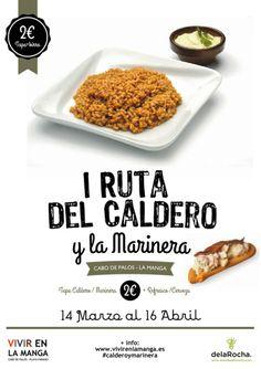 Dos grandes iconos de nuestra gastronomía unidos en una deliciosa ruta por #LaManga y #CabodePalos ¿te apuntas? => http://www.murciaturistica.es/es/evento/ruta-del-caldero-y-la-marinera-M419029/?utm_source=Pinterest&utm_medium=Redes%20Sociales&utm_campaign=RUTA%20DEL%20CALDERO%20Y%20LA%20MARINERA