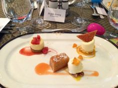 Fairview Dining Room Enjoy This Trio Of Desserts For Lunch And Dinner During Triangle