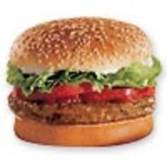 Burger King veggie burger saves my life with I am on the go and want a burger. I love this one! Remove the mayo and the tomato( I don't like raw tomato's, only stewed) for me. Add ketchup for a total of 320 cals.