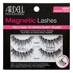 5528999f826 Ardell Magnetic Lashes Double Whispies Double Eyelashes, Demi Wispies,  Black Lashes, Magnetic Lashes